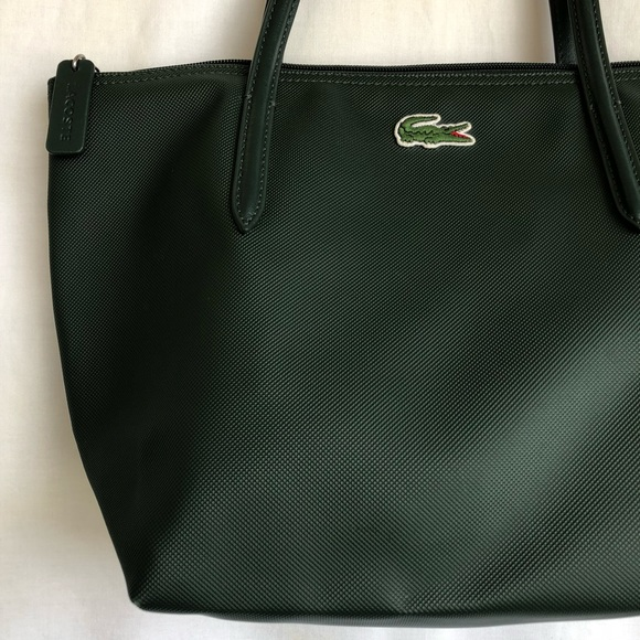 6dfec8628903ea Lacoste Handbags - Lacoste L.12.12 Concept Small Zip Bag